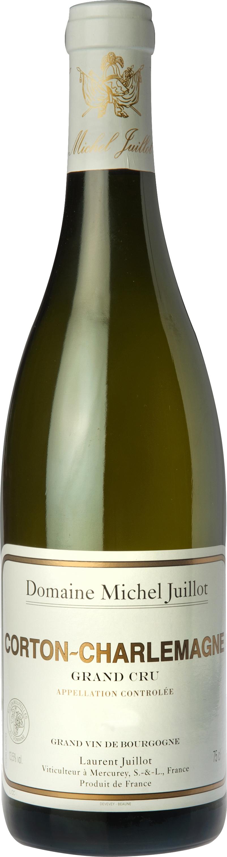 Domaine Michel Juillot bouteille de Corton Charlemagne Grand Cru