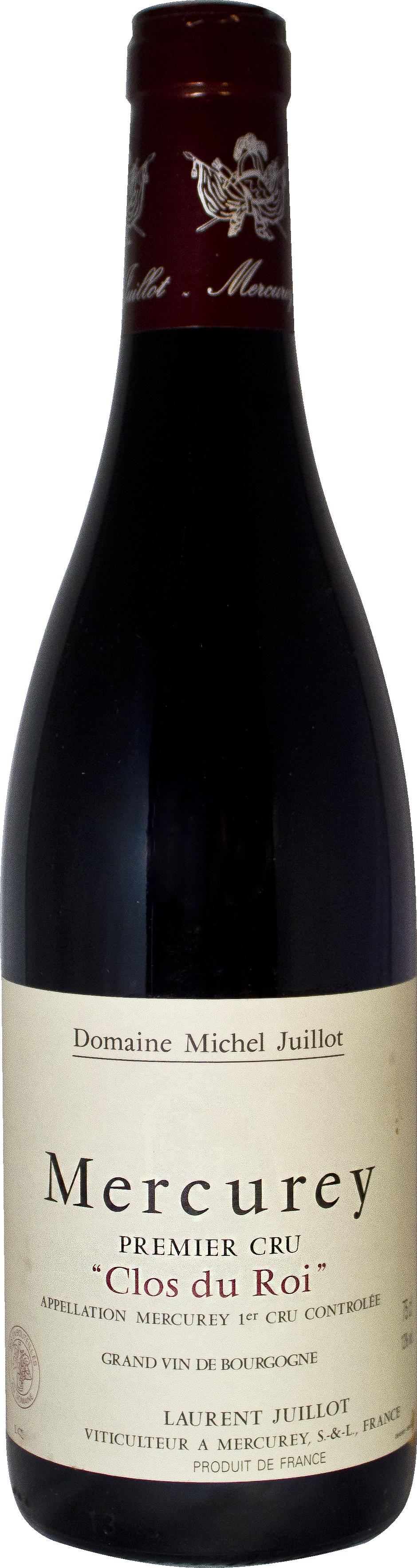 Domaine Michel Juillot bouteille de Mercurey Rouge Premier Cru Clos du Roi