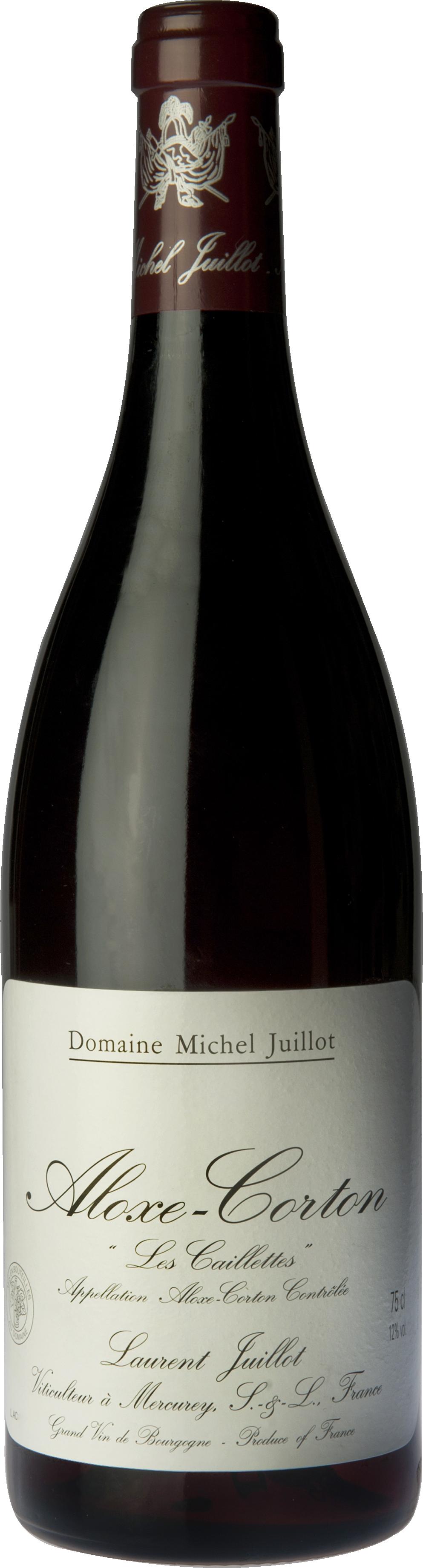 Domaine Michel Juillot bouteille d'Aloxe Corton Les Caillettes