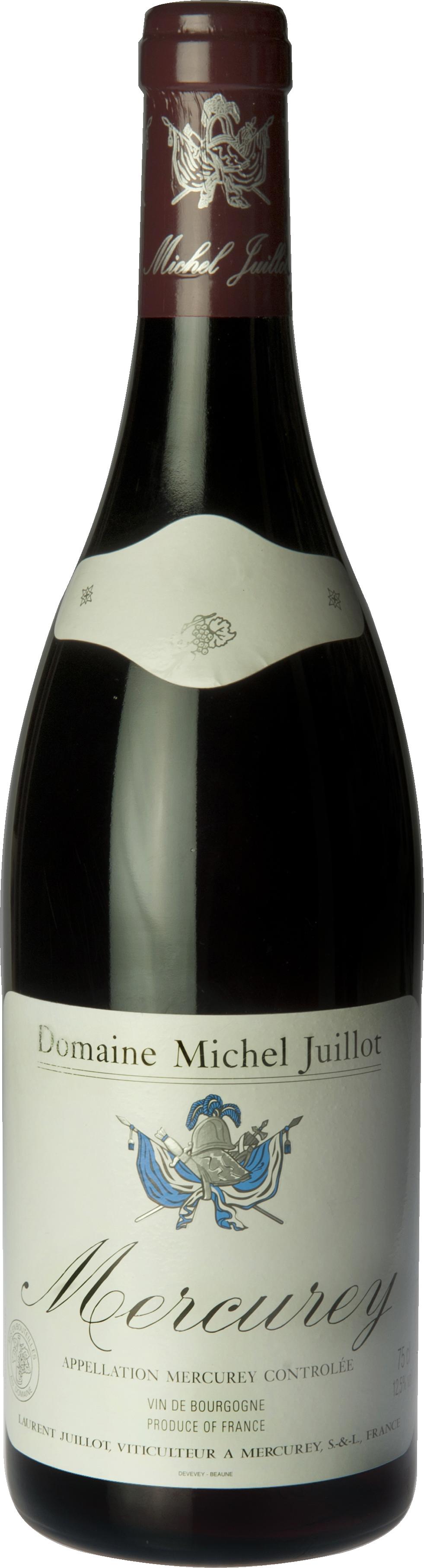 Domaine Michel Juillot bouteille de Mercurey Rouge