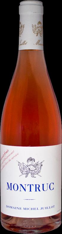 Domaine Michel Juillot bouteille de Coteaux Bourguignons Rosé Montruc