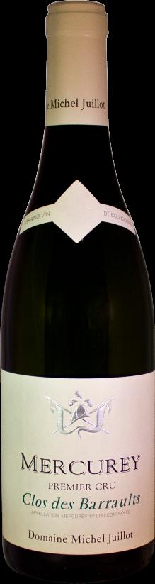 Domaine Michel Juillot bouteille de Mercurey blanc premier cru Clos des Barraults