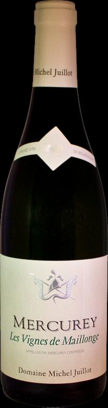 Domaine Michel Juillot bottle of Mercurey White Les Vignes de Maillonge