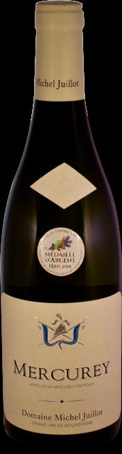Domaine Michel Juillot bouteille de Mercurey blanc