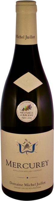 Domaine Michel Juillot bottle of Mercurey White