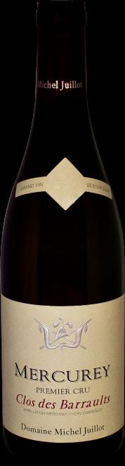 Domaine Michel Juillot bottle of Mercurey Red Premier Cru Clos des Barraults