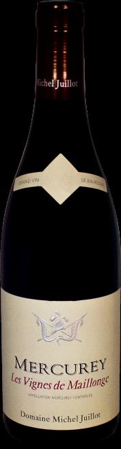Domaine Michel Juillot bouteille de Mercurey Rouge Les Vignes de Maillonge
