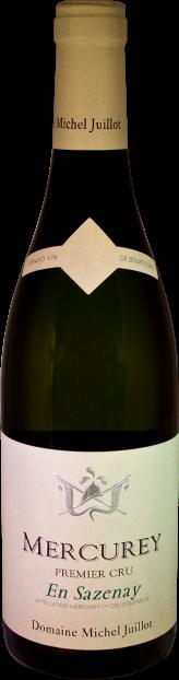 Domaine Michel Juillot bouteille de Mercurey blanc premier cru En Sazenay