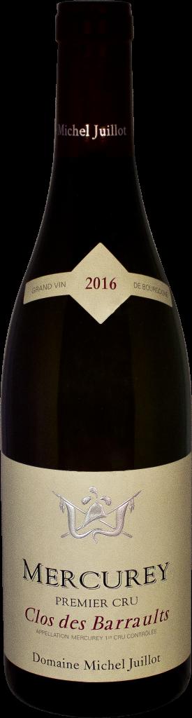 Mercurey Rouge Clos des Barraults 2016